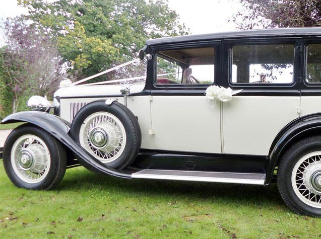 1930 Buick Old English Series 40 Model 47 Sedan Wedding